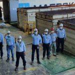 Monómeros recibe primer cargamento de materia prima con el Grupo Daabon